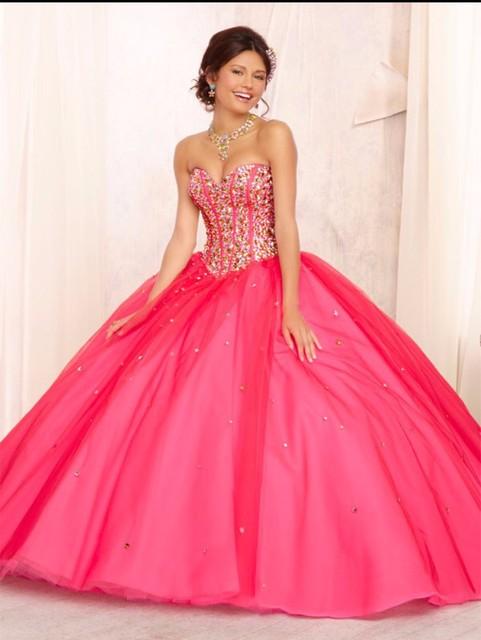 Projeto especial Vestido De 15 Años De Debutante Vestido Doce Bola 15 Vestidos Quinceanera Azul Vestidos Vestidos Quinceanera Vermelho Quente