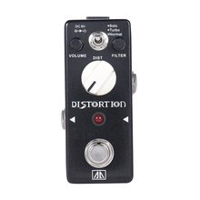 AROMA ABT-5 Classic Distortion Guitar Effect Pedal Warm Smooth Wide Range Distortion Sound 3 Modes Aluminum Alloy True Bypass 5 pcs of electric guitar bass overdrive distortion effect pedal true bypass aroma aod 1