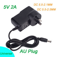 27PCS 5V2A New AC 100V 240V Converter Switching Power Adapter DC 5V 2A 1000mA Universal Power Supply AU Plug Tablet Charger