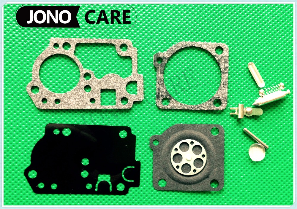 RB-142 RB-141 carburetor kit for Zama C1U-W32, C1U-W32A,C1U-H62,C1U-H62A Carburetors fit Ryobi Homelite Poulan Trimmer Blowers ruixing carburetor carb adjustment tool for homelite ryobi 26cc 30cc trimmer poulan blowers 308054013