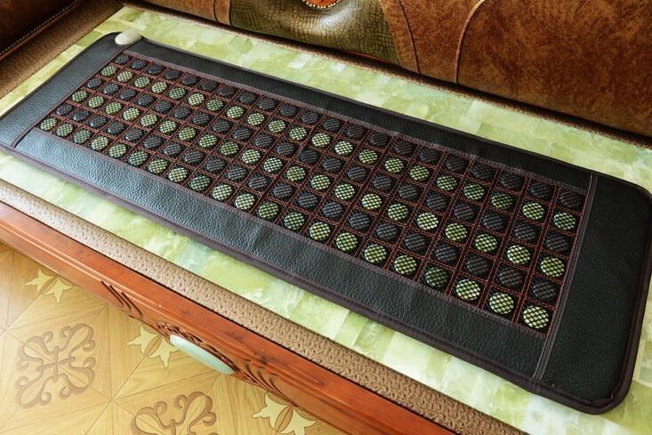 New products for 2018. South Korean tourmaline heating massage mattress home stone sofa massage 50 * 150 cm.