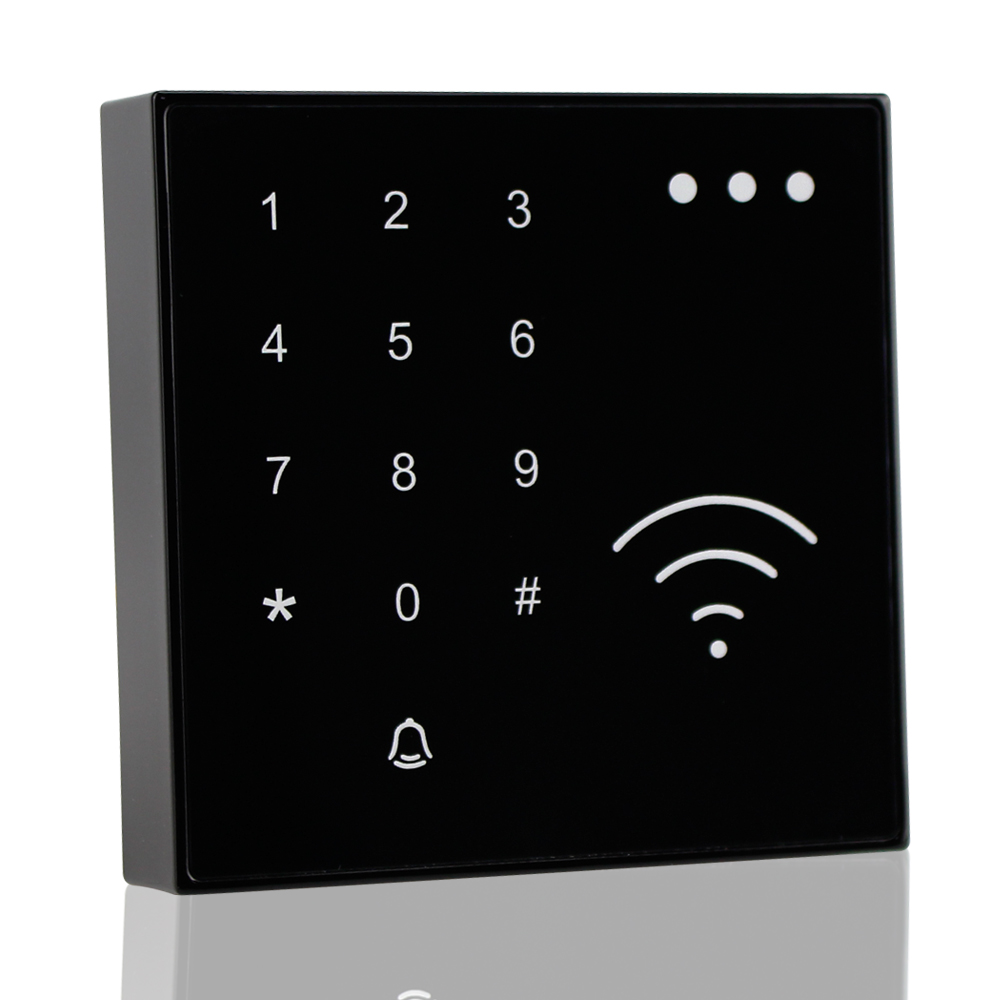 Waterproof RFID card 125KHz reader proximity reader EM ID smart card reader WG26/34 input/output for access control system free shipping wholesale 125khz rifd smart card reader access control reader wg26 id rfid reader