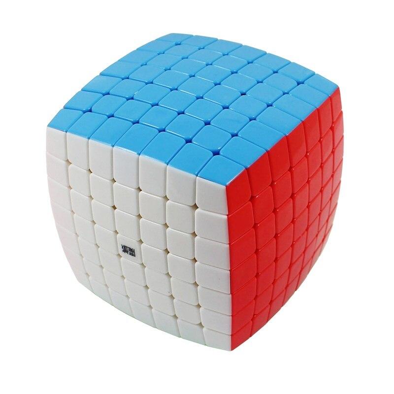 YJ MoYu AoFu 7X7X7 sans bâton vitesse Puzzle Cube professionnel torsion Cubes Cubo Magico classique apprentissage jouets éducatifs enfant cadeau