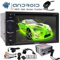 Android 7,1 автомобильный стерео dvd проигрыватель 2 din 1 ГБ ОЗУ с навигацией WiFi зеркальная связь Поддержка Android Авто Fastboot резервная камера USB