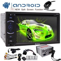 Android 7.1 Car Stereo 2 Din DVD Player 1GB RAM with Navigation WiFi Mirror Link support Android Auto Fastboot Backup Camera USB