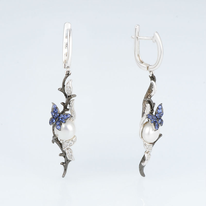 E307634BNFZSV925-SV2-Silver Earrings