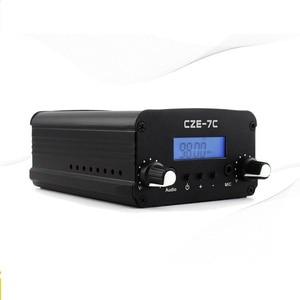 Image 3 - 1W/7W Stereo Pll Fm zender Uitzending Radio Station CZE 7C 76 108 Mhz + Tnc Antenne + Voeding + Audio Cabel