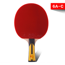 Sports Entertainment - Racquet Sports - Table Tennis Supplies Genuine Double Fish Six-star Table Tennis Racket Horizontal Grip Ping-pong Bat For Beginners And Medium