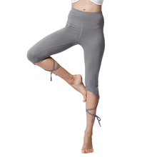 High Waist Push Up Crop Yoga Leggings