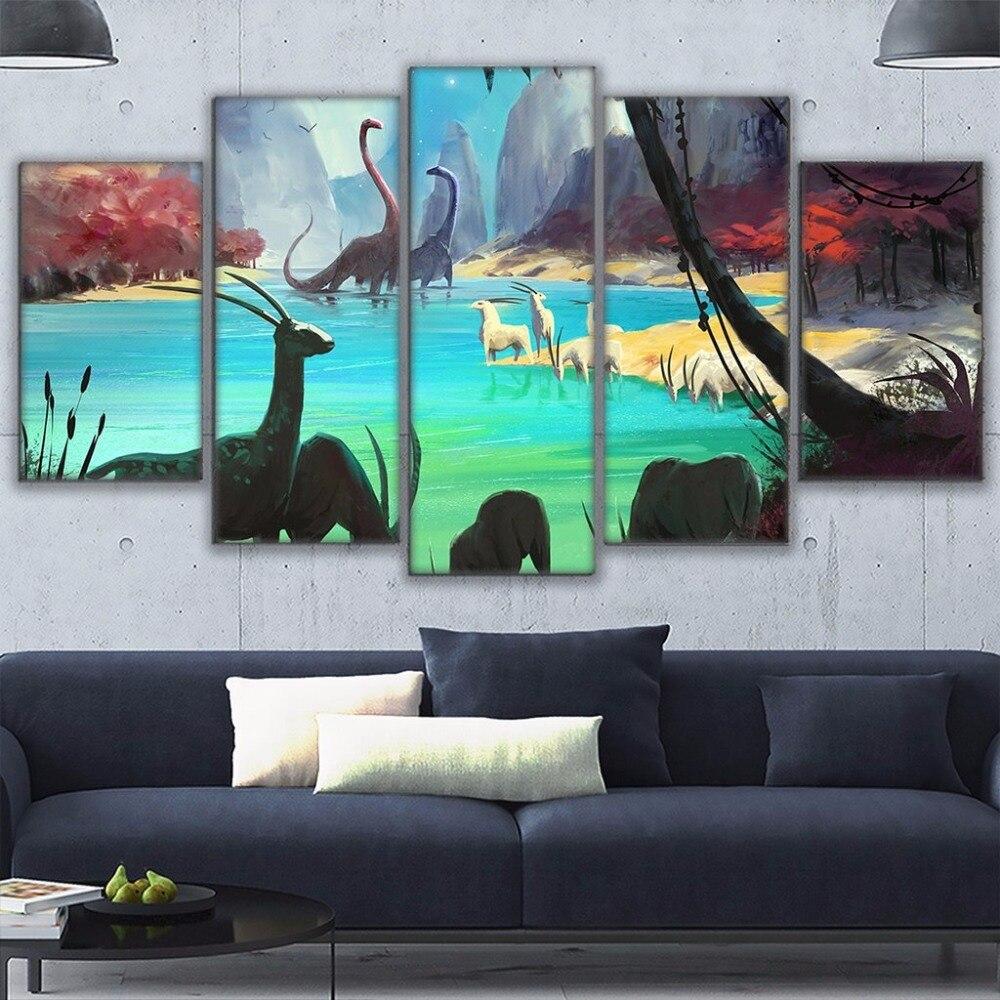 Online Get Cheap Dinosaur Painting Games Aliexpress