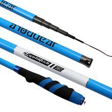 3.6M-6.3M Rock Fishing Rod High Carbon Super Hard Telescopic Fishing Rod For Big Fish Baitcasting Rod Sea Rod Medium Fast