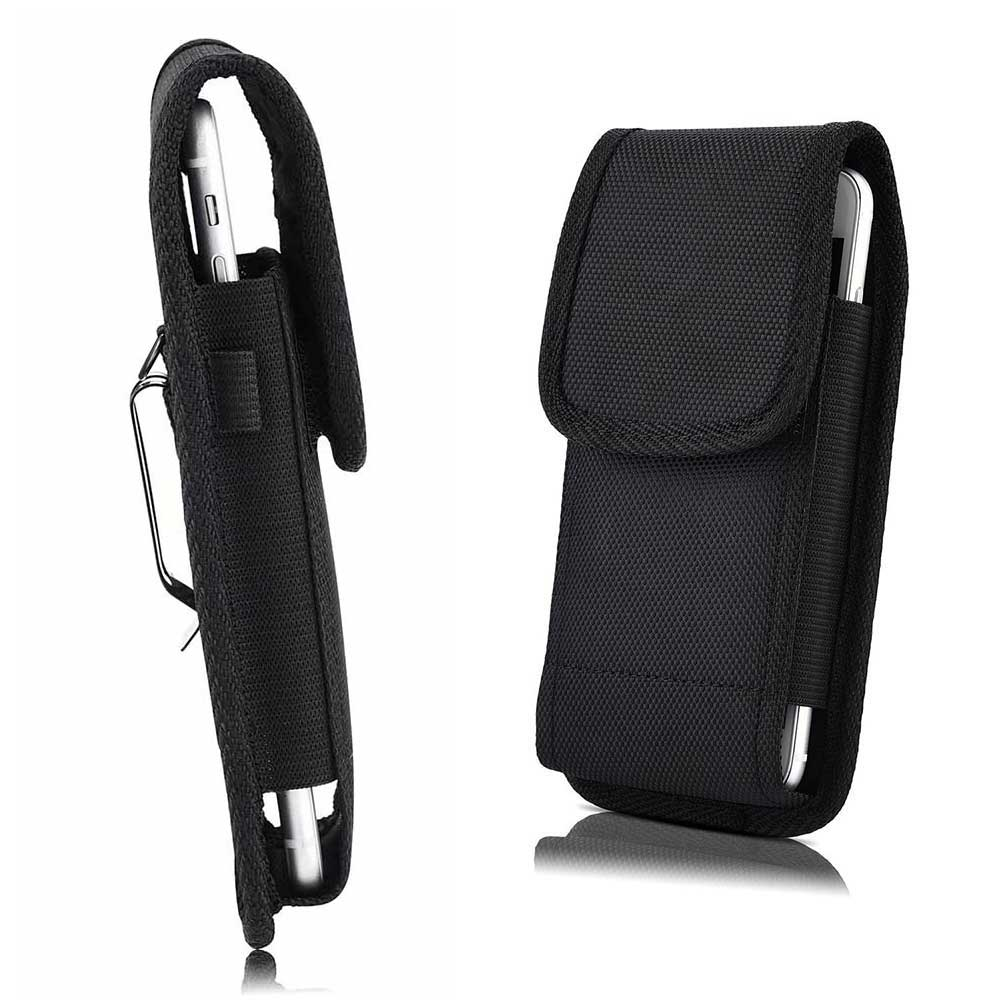 Universal Cellphone Pouch Waist Bag 3.5-6.3 inch For huawei holster Belt Clip phone cover for Samsung Iphone XS X with Pen Slots