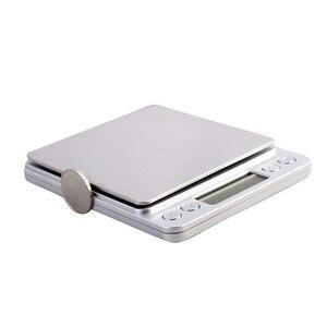Image 4 - 500g x 0.01g wysoka dokładność przenośna waga Mini elektroniczna waga cyfrowa kieszonkowa biżuteria kuchenna waga maszyna do ważenia