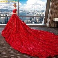 Суд красный длинный хвост для беременных свадебное платье для беременных платье Кружева платье для беременных с пайетками для беременных ж