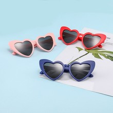 MYT_0106 Children Sunglasses For Boys Polarized Kids Heart Comfortable Girls Personality sunglasses Retro Eyewear