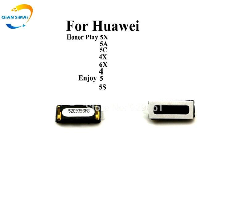 QiAN SiMAi 2PCS/Lot Ear Earpiece Speaker For Huawei Honor Play 5A 5C 5X 4X 6X 4 Enjoy 5 5S Phone