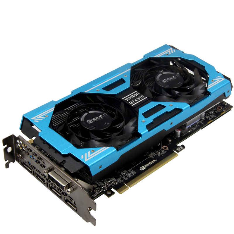 Yeston Master GTX970 4G DDR5 graphics card for video games NVIDIA GTX970 4G GDDR5 video card 256bit DirectX 12 3 years warranty