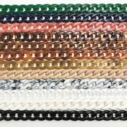 1 шт. 60 см/120 см Съемный сменный плечевой ремень сумка рыбья кость акриловая смола сумка цепочка ремень сумка с ремнями аксессуары