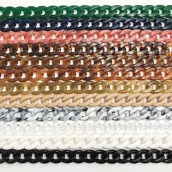 1 шт. 60 см/120 см съемная Замена плечевой ремень сумка рыбья кость акриловая смола сумка цепь ремень сумка с ремнями аксессуары