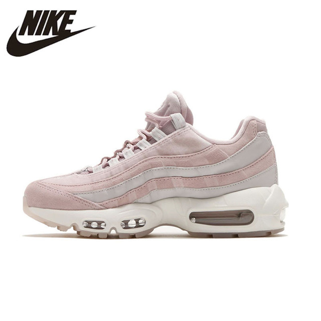 sports shoes b5059 086b7 NIKE AIR MAX 95 LX Original Running Shoes For Women Stability Height  Increasing Sneakers For Women Shoes AA1103-600