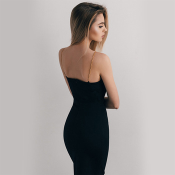 Women Sleeveless Knee-Length Party Dress 1