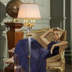K9 kryształowe lampy podłogowe stojak lampy luksusowe nowoczesny minimalistyczny pokój dzienny kryształ lampka nocna sypialnia lampy podłogowe lampy kryształowe