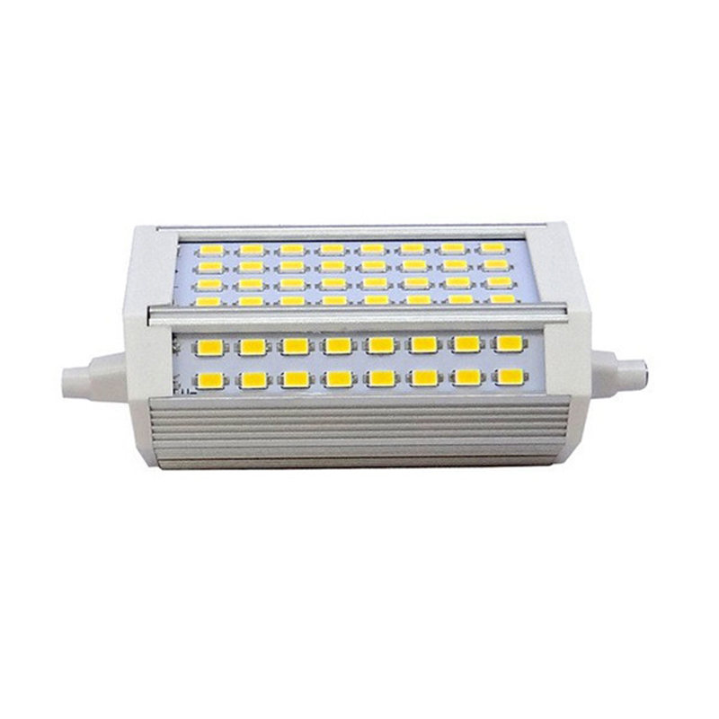 LED Light Bulb R7S 30W 3000LM 118mm 64 SMD5730 Spotlight Lamp Bulb Pure Warm White Chandelier Lighting Energy Saving 85-265V 680lm mr16 7w cob warm white led spot bulb energy saving light 85 265v