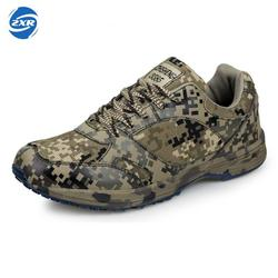 Outdoor Military Enthusiasts Forest Camouflage Soldier Digital Forestry hiking Shoes For Military Training Sneaker Men Women
