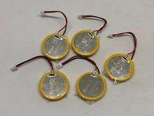 20pcs/lot Original for Panasonic CR2450 battery with solder pin plug wire bonders 3V AFPX-BATT FP-X Series PLC Batteries