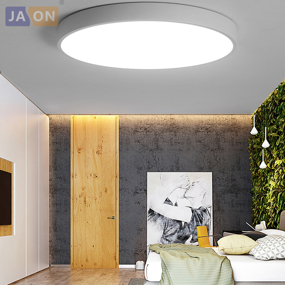 Ceiling Lights Led Modern Acryl Alloy Round Super Thin Led Lamp.led Light.ceiling Lights.led Ceiling Light.ceiling Lamp For Foyer Bedroom High Quality Lights & Lighting
