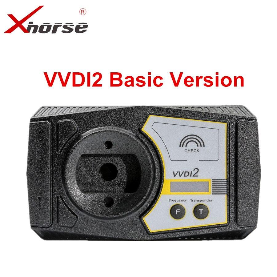 Xhorse VVDI2 Comandante Programador Chave Função Básica Pode Pagar Para Atualizar para a Versão Completa No Futuro