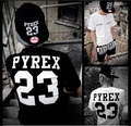 2016 New Letter Casual Jersey Men Women T-shirt Kanye Exo Pyrex For Vision 23 Summer Hipster Top Hip-hop Tee Shirt Gd Les Kpop
