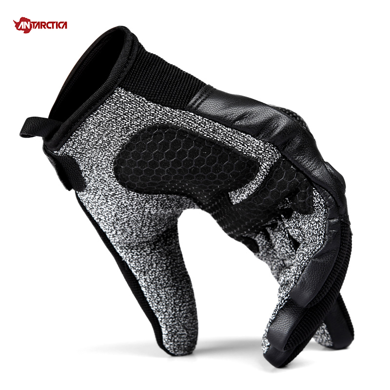 ANTARCTICA Outdoor Sports Tactical Gloves Full Finger Hiking Military Men's Gloves Armor Five Levels Cut prevention Shell Gloves touch screen mountaineering outdoor full half finger tactical gloves combat soft shell soft shell tactical gloves