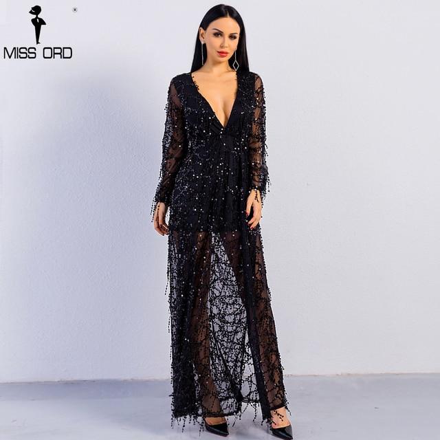 Бесплатная доставка 2019 сексуальное длинное платье до щиколотки с длинным  рукавом с глубоким v-образным 3de168a019e62