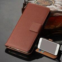 Чехол-кошелек из натуральной кожи с магнитной застежкой и откидной крышкой для Apple iPhone 6 6 S 4,7/6 Plus/6 S Plus 5,5 дюйма