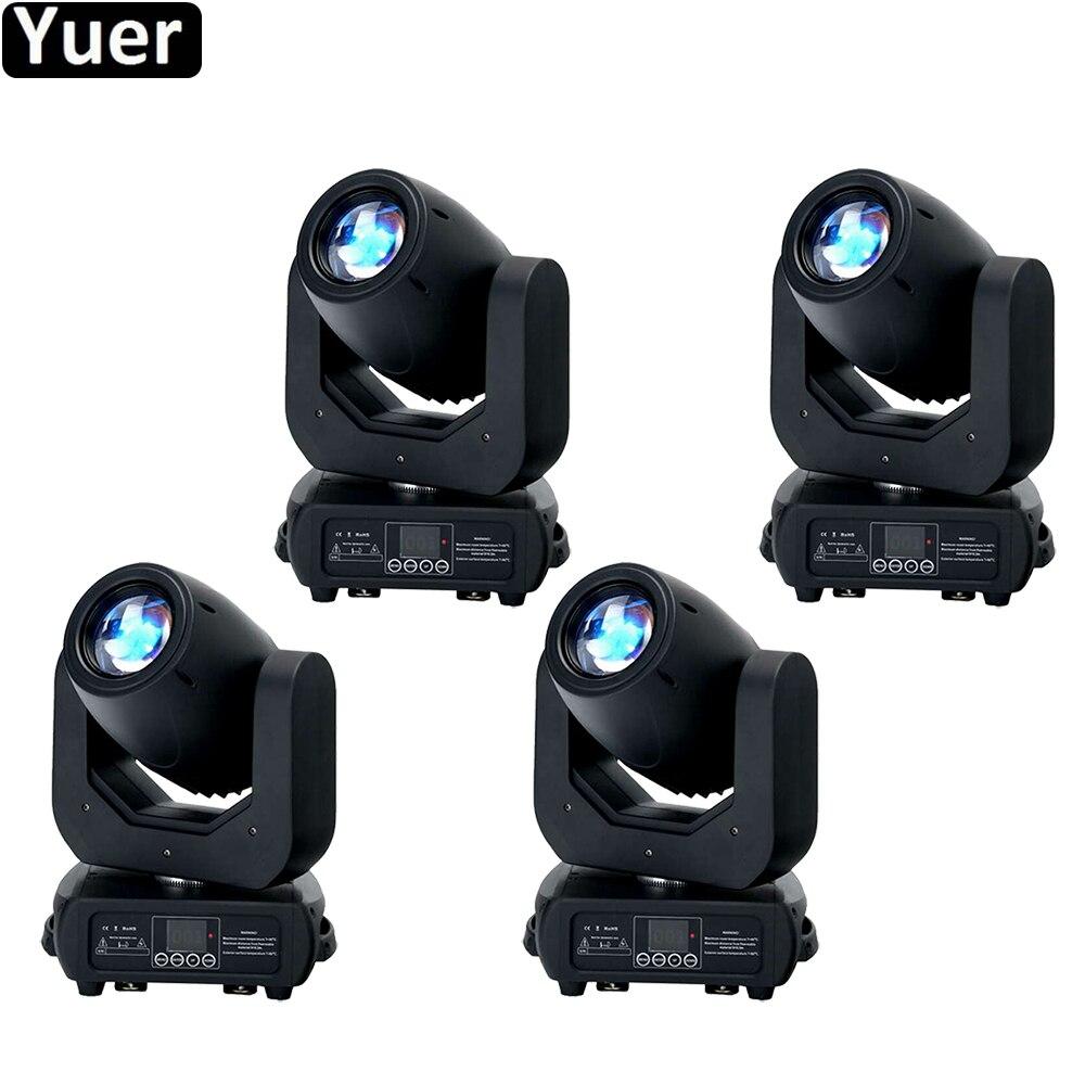4Pcs/Lot 150w LED Beam & Spot Moving Head Lights Three Facet Prism DMX512 Moving Head Light For DJ Disco Party Stage Light