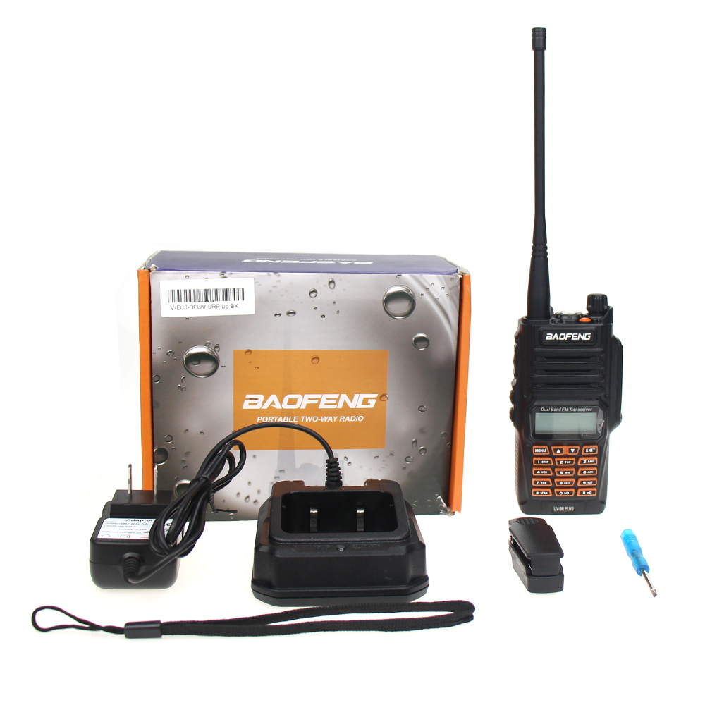 Image 5 - Newest Baofeng UV 9R Plus Walkie Talkie Waterproof 8W UHF VHF Dual Band 136 174/400 520MHz Ham CB Radio FM Transceiver Scanner-in Walkie Talkie from Cellphones & Telecommunications
