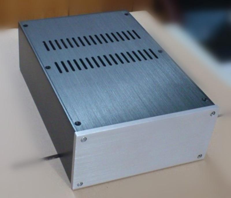 цена на JC2210 Aluminum enclosure Preamp chassis Power amplifier case/box size 220*100*311mm