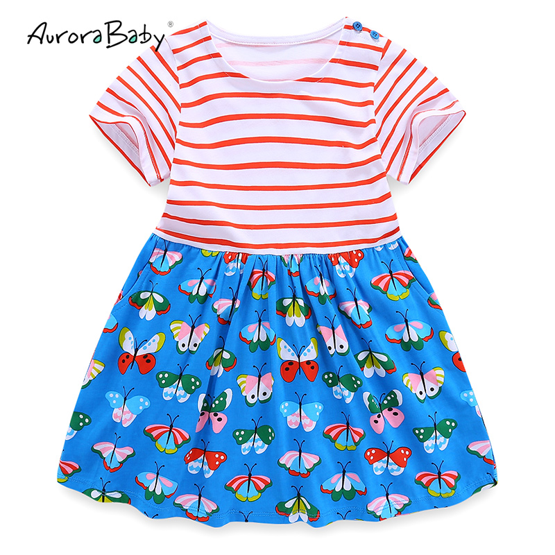 b53c10136 Kids Dresses for Girl Summer Little Girls Dresses Black Appliques ...