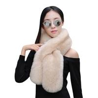 Women Shawl Scarf For Winter White Scarf Faux Fur Collar Coat For Party Wedding Luxury Shawls