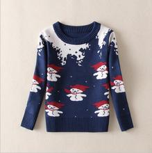 Pure cotton Classic sweater O-Neck Pullover Knitted Clothes Twist weave All-match Children Clothes Spring Casual kid Shirt S122