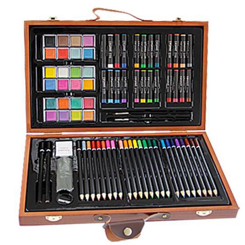 84Pieces Studio Art & Craft Supplies KIDDY COLOR Children