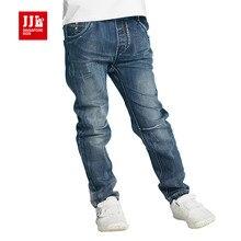 Bleu garçons jeans 2016 automne enfants pantalons enfants denim jeans garçons pantalon pleine longueur enfants vêtements enfants vêtements