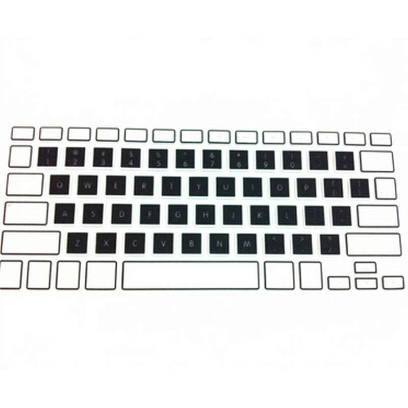 100X Candy Rainbow Silicone Keyboard Skin Protector Cover