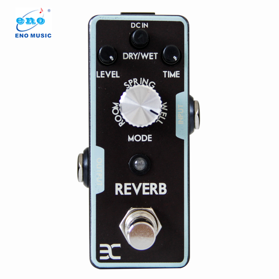 цена на Eno REVERB Electric Guitar Pedal True bypass Full Metal Shell Experience any reverbs from Spring