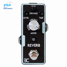 Eno REVERB Electric Guitar Pedal True bypass Full Metal Shell Experience any reverbs from Spring
