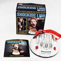 Polygraph Liar Micro Electric Shock Lie Detector Game Toy LED's Fact or Porky