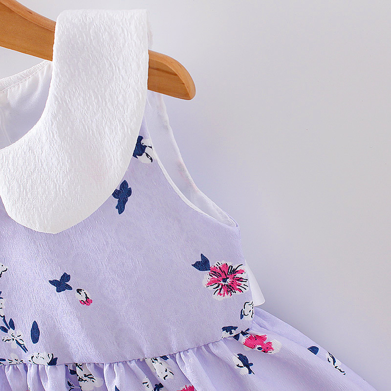 HTB1JSo8QFXXXXcvXXXXq6xXFXXXh - LCJMMO 2017 Baby Girl Dress Summer Floral Princess Party Cute Cotton Baby Girls Clothing Kids Lolita bow-knot Dresses For 6-24M