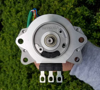 DC12V 24V 500W 2400 4800RPM Brushless Magnetic Motor Automotive Steering Motor Suitable for Power Tools Machinery DIY