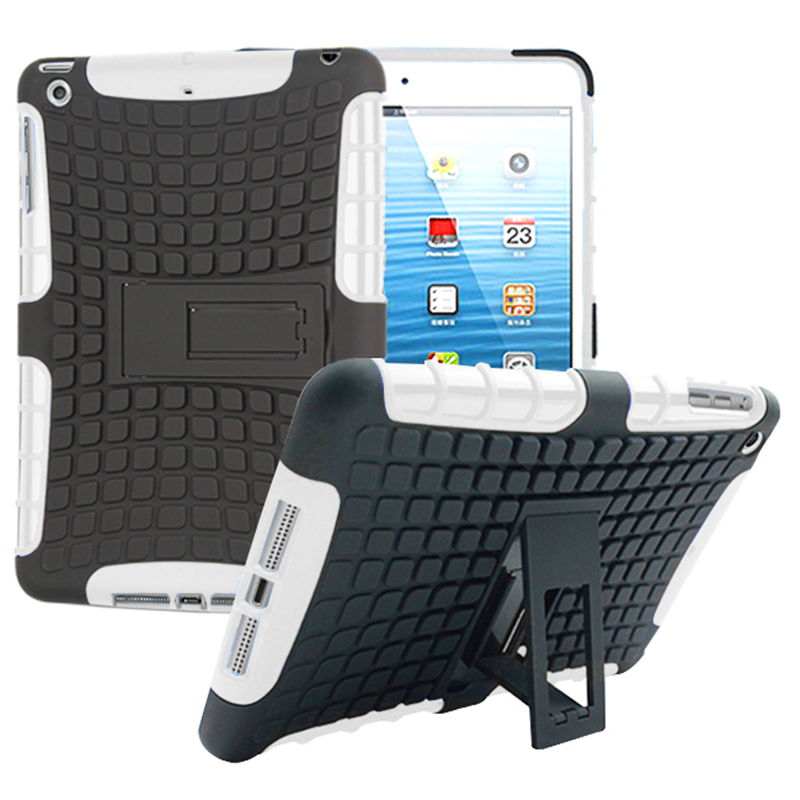 Per Apple iPad mini 1 2 3 Custodia Cover Heavy Duty Armor Custodia - Accessori per tablet